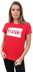 Levi's Red / Sptwr Lychee The Perfect Tee