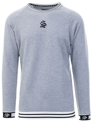 Sinners Attire Grey Hypa Long Sleeve Sweater