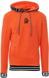 Sinners Attire Fluoro Orange Hypa Long Sleeve Hoodie
