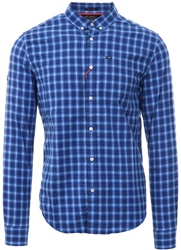 Superdry Blue Check Ultimate University Oxford Shirt