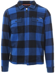 Superdry Royal Rookie Harrington Zip Up Shirt