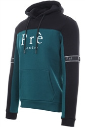 Pre London Black/Teal Eclipse Long Sleeve Hoodie