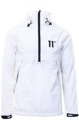 11degrees White Waterproof Hurricane Jacket