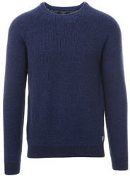 Broken Standard Marazine Blue Donald Crew Neck Sweater
