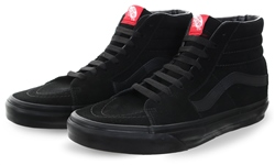 Vans Black/Black Sk8-Hi Old Skool Shoes