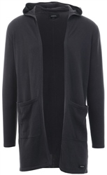 Broken Standard Charcoal Harrison Knitted Cardigan
