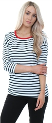 Only Red Cloud Dancer Elcos Stripe Top