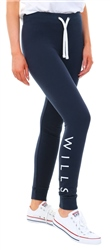 Jack Wills Navy Lingham Soft Skinny Joggers