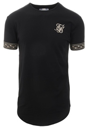 Siksilk Black Cartel Lounge Short Sleeve Tee