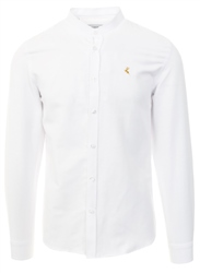 Ottomoda White Long Sleeve Button Down Shirt