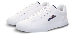 Ellesse White Taggia Panel Lace Up Trainer