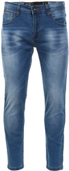 Crosshatch Lightwash Robert Skinny Fitted Jean