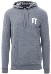 Charcoal Core Pull Over Hoodie by 11degrees