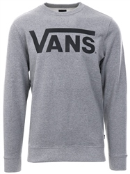 Vans Grey Classic Crew Long Sleeve Fleece