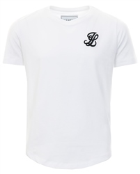 Illusive London White S/S Taped Raglan Gym Tee