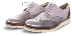 S.Oliver Rose Closed Toe Lace Up Brogue