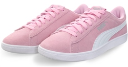 Puma Pale Pink - White - Silver Vikky V2 Lace Up Sneaker
