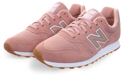 New Balance Stone With White 373 Lace Up Trainer