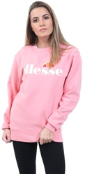 Ellesse Pink Agata Crew Long Sleeve Sweat