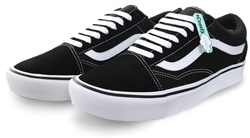 Vans Black/True White Comfy Cush Old Skool Trainers