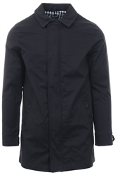 Brave Soul Black Addington Long Line Jacket