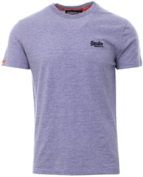 Superdry Lilac Orange Label Vintage T-Shirt