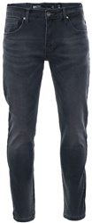 Crosshatch Grey Wash Emaciateed Distressed Jeans