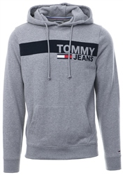 Hilfiger Denim Grey Heather Essential Graphic Hoody