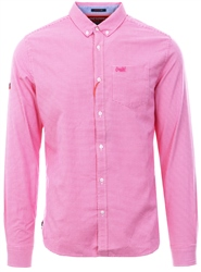 Superdry Gingham Pink Ultimate University Oxford Shirt