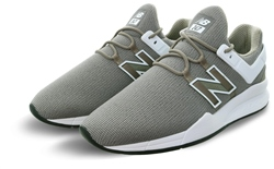 New Balance Khaki With White 247 Lace Up Trainer