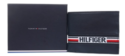 Hilfiger Denim Navy Tape Small Card Wallet