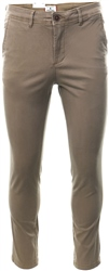 Beige Marco Bowie Slim Fit Chinos by Jack & Jones