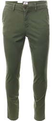 Jack & Jones Olive Marco Bowie Slim Fit Chinos