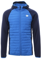 Jack & Jones Atomic Blue Quilted Zip Up Jacket