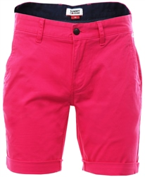 Hilfiger Denim Fuschia Purple Lightweight Shorts Chino Shorts