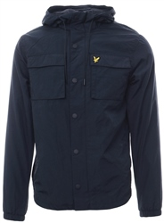 Lyle & Scott Dark Navy Pocket Button Down Jacket