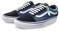 Vans Navy/St Navy (Mens) Comfy Cush Lace Up Trainer