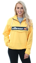 Ellesse Yellow Mont 1/4 Zip Up Jacket
