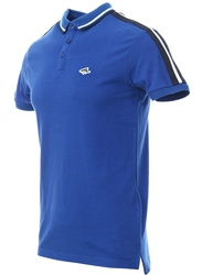 Le Shark Seasure Blue Polo Shirt With Sleeve Panels