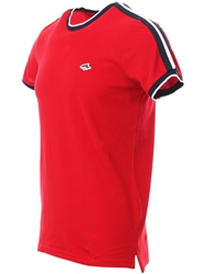Le Shark Barados Cherry T-Shirt With Sleeve Panels