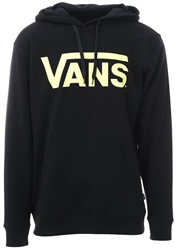 Vans Black/Sunny Lime Classic Pullover Hoodie