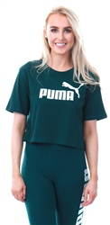 Puma Pine Essentials+ Cropped Women's Tee