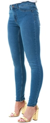Pieces Blue Denim Shape Up Skinny Jeans