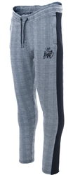 Kings Will Dream Grey Check Hapton Jogger Pant
