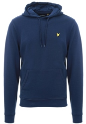 Lyle & Scott Navy Pull Over Logo Hoodie