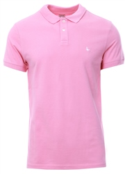 Jack Wills Pale Pink Aldgrove Polo Shirt Short Sleeve