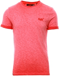 Superdry Sugar Red Low Roller T-Shirt