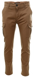Threadbare Camel Fraser Chino Pocket Trouser
