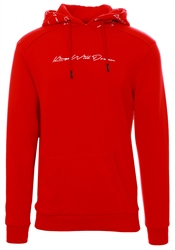 Kings Will Dream Red / White Torfin Overhead Hooded Top