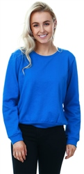 Brave Soul Blue Crew Neck Long Sleeve Sweater